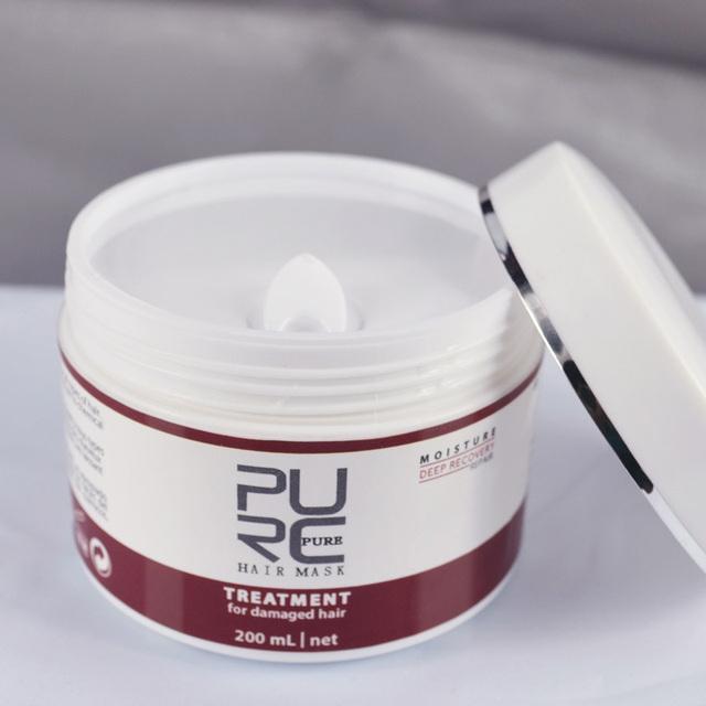 Moisturizing Mask for Damaged Hair Treatment
