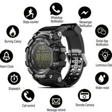 Camouflage Men Smart Watch EX16 Luminous Sport Smartwatch No