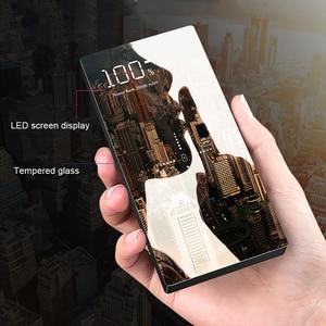 Image 2 - QI 무선 충전기 전원 은행 20000 mAh Xiaomi Mi 2 빠른 충전 2A PowerBank 휴대용 충전기 외부 배터리 아이폰에 대 한