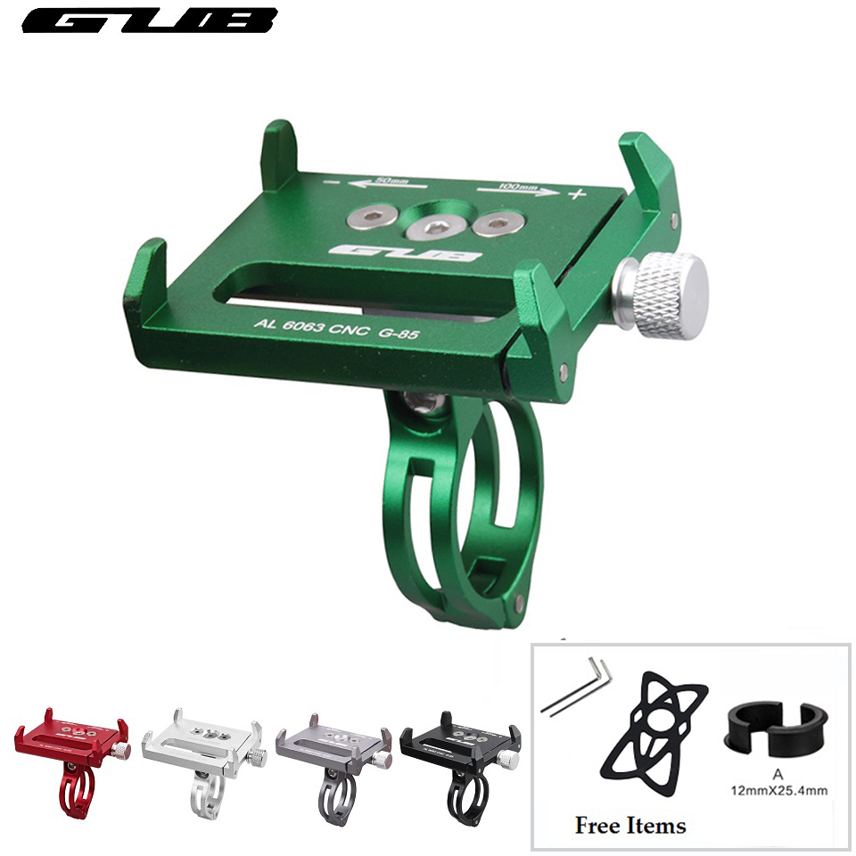 GUB G-85 Bicycle Handlebar Phone Holder Cycling Universal Phone GPS Support Motorcycle 3.5 to 6.2 Inches Smartphone Bracket