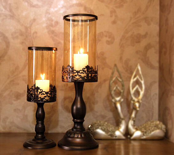 Candle Holders Vintage Home Decor Moroccan Decor Candelabras Candle Stand  Wedding Candles Gaiolas Decorativas Candlesticks