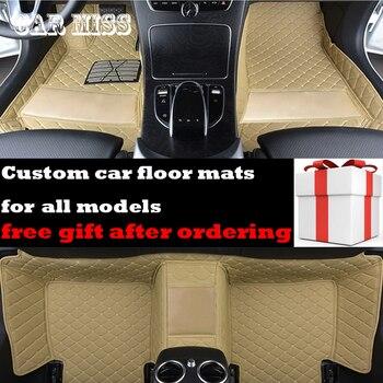 Custom logo car floor mats for opel zafira tourer all models Insignia Astra k Antara Vectra zafira auto accessories car mats фото