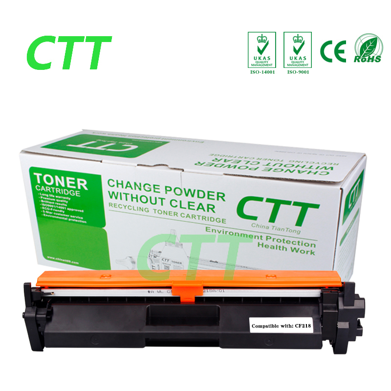 CF218A 18A 218A Compatible toner cartridge for HP LaserJet Pro M104a M104w MFP M132a 132nw 132fn