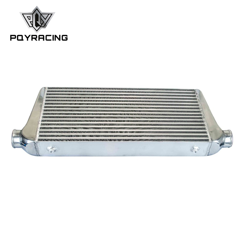 PQY - Universal 600*300*76mm Turbo Intercooler OD=2.5 Front Mount intercooler bar&plate PQY-IN816-30 pivot 450x300x76 alloy turbo front mount intcooler bar