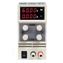 Wanptek KPS605DF 0-60V/0-5A LED Display 4 Digits adjustable DC Regulated power supply Laboratory