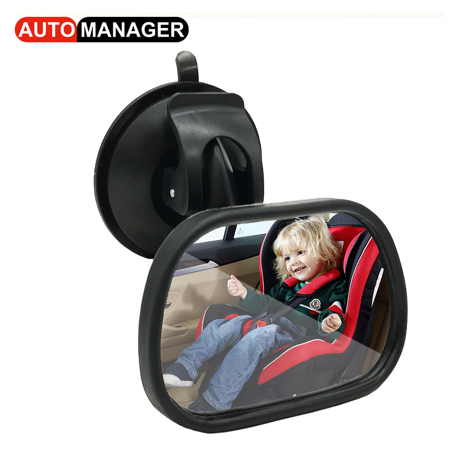 Car Inner Rear Seat View Mirror for Baby Child Kids Safety Seat Rearview Reverse Mirror  ...