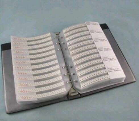 0805 smd конденсатор комплект 700 шт+ 0805 smd Резистор Комплект 3025 шт практичный образец книги 80 значений = 4025 шт