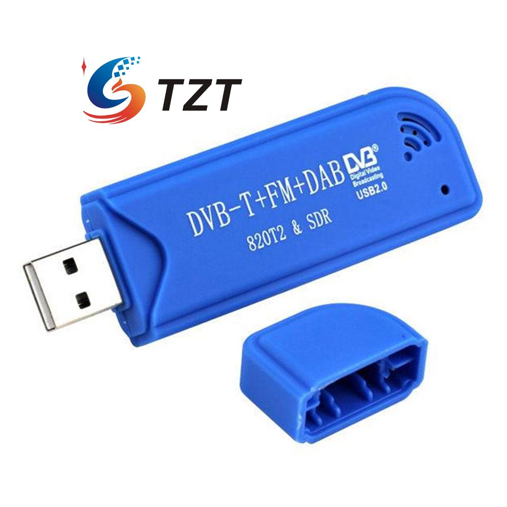 Mini Digital USB 2.0 TV Stick DVB-T + DAB + FM RTL2832U + R820T2 Support SDR Tuner Receiver