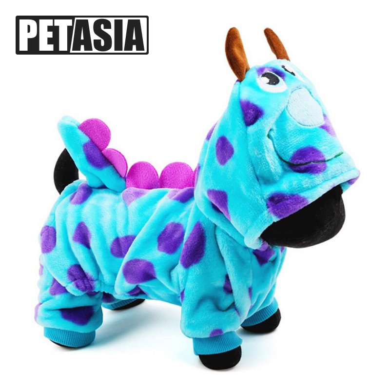 2019 Îmbrăcăminte de înaltă calitate pentru câini Pet Super Drăguț Party Dress Up Îmbrăcăminte pentru câini Coat Dragon Small Medium dog Blue Summer Summer Girl