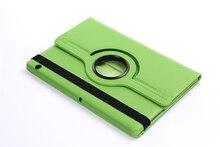 Rotatorio de 360 Grados de Rotación Litchi Folio Soporte de LA PU Cubierta de Cuero funda Para Huawei MediaPad T3 10 AGS-L09 AGS-L03 9.6 pulgadas Tablet