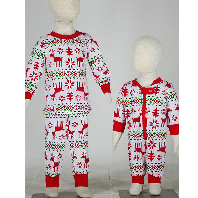 New Family Christmas Pajama Family Matching Clothes Matching Mother  Daughter Clothes Fashion Father Son Mon New Year Family Look-in Matching  Family ... 96a671d16