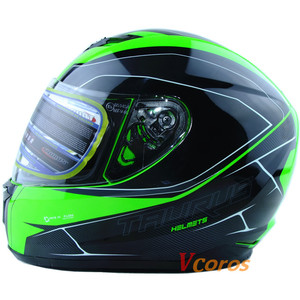 Image 2 - Vcoros รถจี๊ปใหม่มาถึง XS ขนาดรถจักรยานยนต์ฤดูหนาว full face หมวกกันน็อก capacete motoqueiro