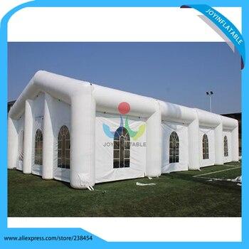 Лучшее качество белый надувной шатер свадебный шатер со светодиодной подсветкой