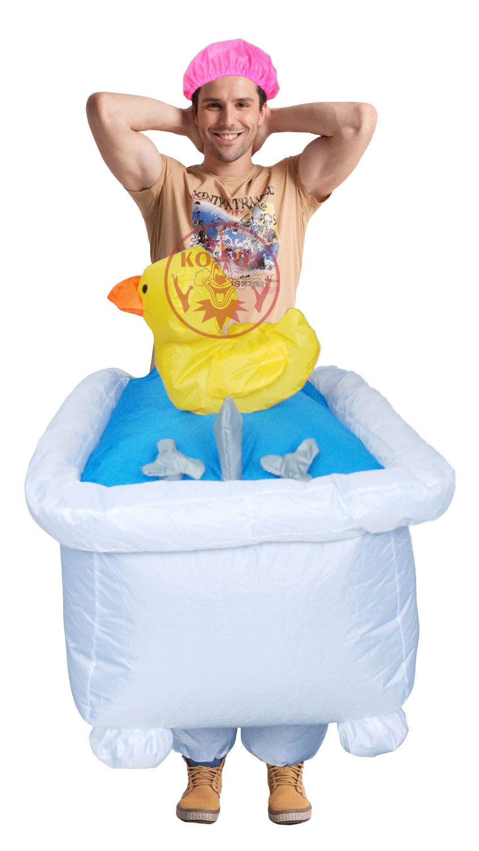 mens good clean fun inflatable bathtub costume halloween party costumes for manchina mainland - Ups Man Halloween Costume