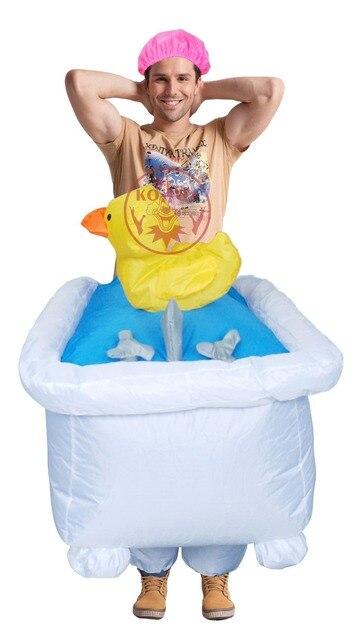 Badewanne Kostüm männer gute sauberen spaß aufblasbare badewanne kostüm