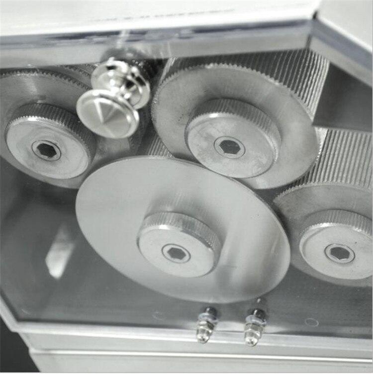 Grande sortie 3 rouleaux/4 rouleaux en option en acier inoxydable électrique canne à sucre presse agrumes machine canne à sucre presse agrumes de haute qualité - 3