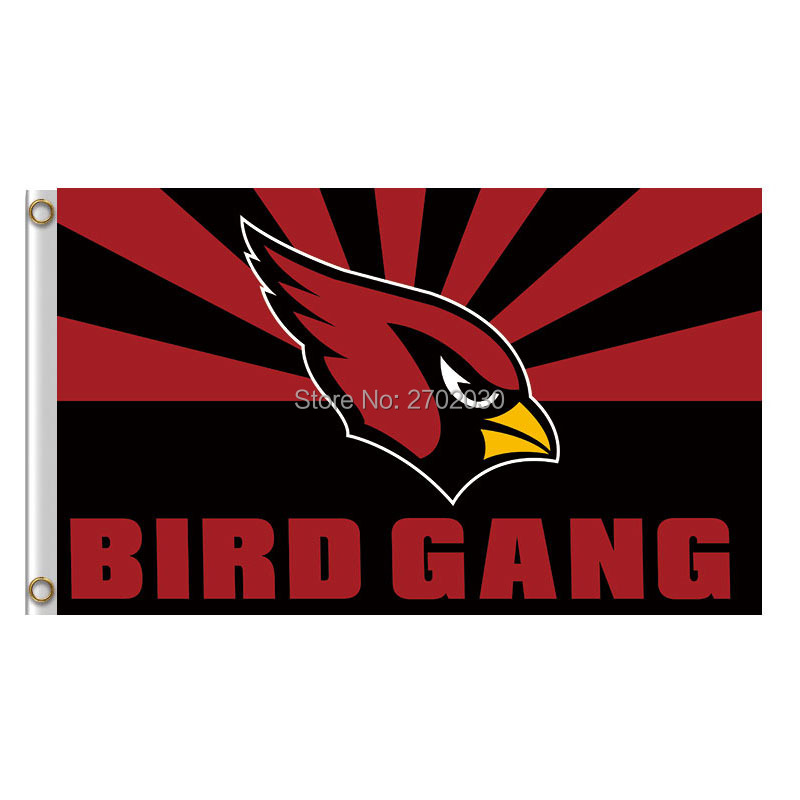 BIRD GANG Arizona Cardinals Flag World Series Football Team 3ft X 5ft Banners Super Bowl ...