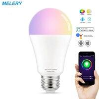WiFi Smart LED Light Bulbs E26 12W Lamp Equal 90W RGB Cool White Colour Changing Mood Light Homekit Works with Alexa Google Home