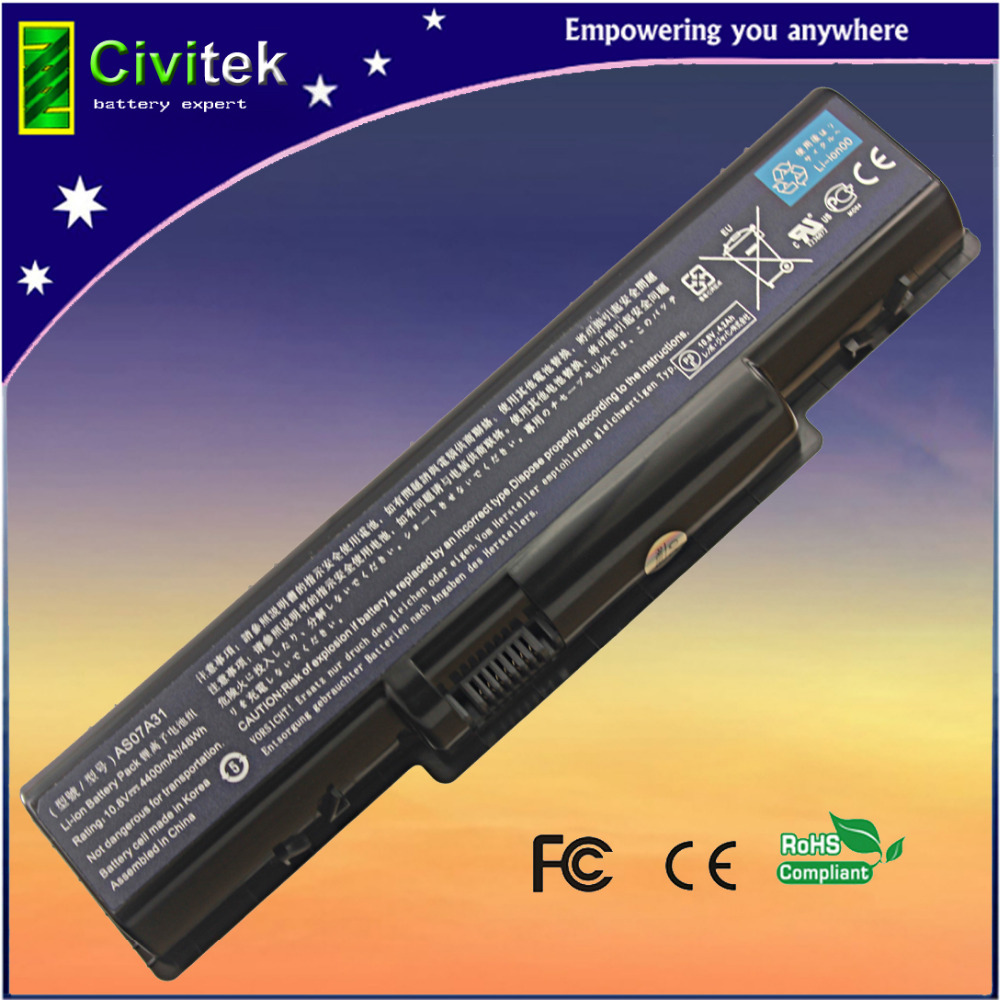 laptop batterij Voor Acer 4520G 4710 4715Z 4720G 4730 4730Z 4736 5235 5334 2930 AS07A31 AS07A41 AS07A51 AS07A71