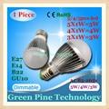 1 Unidades Dimmable Bola de la Burbuja Del Bulbo AC85-265V 5 W 4 W 3 W E14 E27 B22 GU10 Globe luz LED droplight Bombilla LED Lámpara de Luz LED de iluminación