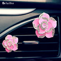 2PCS car air outlet perfume 2016 Aromatherapy air freshner auto supplies vents car perfume High-end Car Vent Clips Automotive