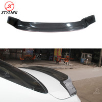 For Mercedes benz W205 Carbon Spoiler R Style Coupe C Class W205 Carbon Fiber Rear Spoiler Rear trunk wing car styling 2014 UP