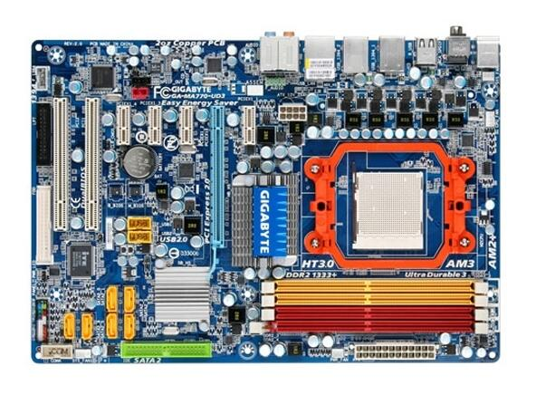ФОТО original motherboard Gigabyte GA-MA770-UD3 DDR2 Socket AM2/AM2+/AM3 16G MA770-UD3 940 desktop motherboard Free shipping