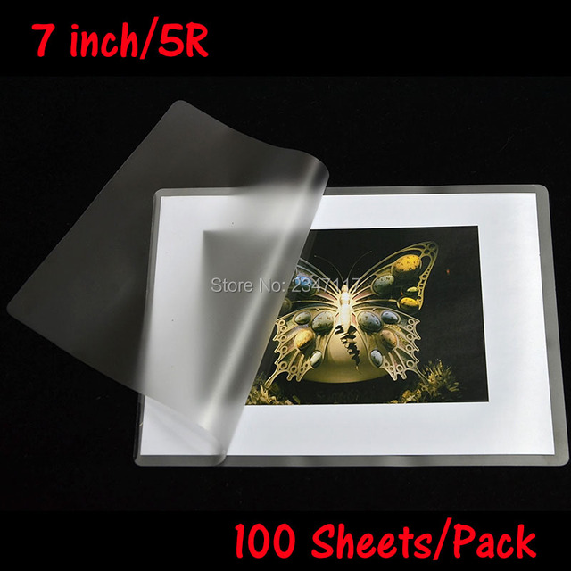 100mic plastic film 5r laminating film to protect card film sealed plastic film laminate machine dedicated - How To Laminate Cards