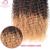 6A Barato Brasileño de la Virgen Del Pelo afro Rizado Rizado Rubio Ombre Pelo Humano Teje 1B #4 #27/30 Brasileño Naturaleza Paquetes de Pelo rizado A