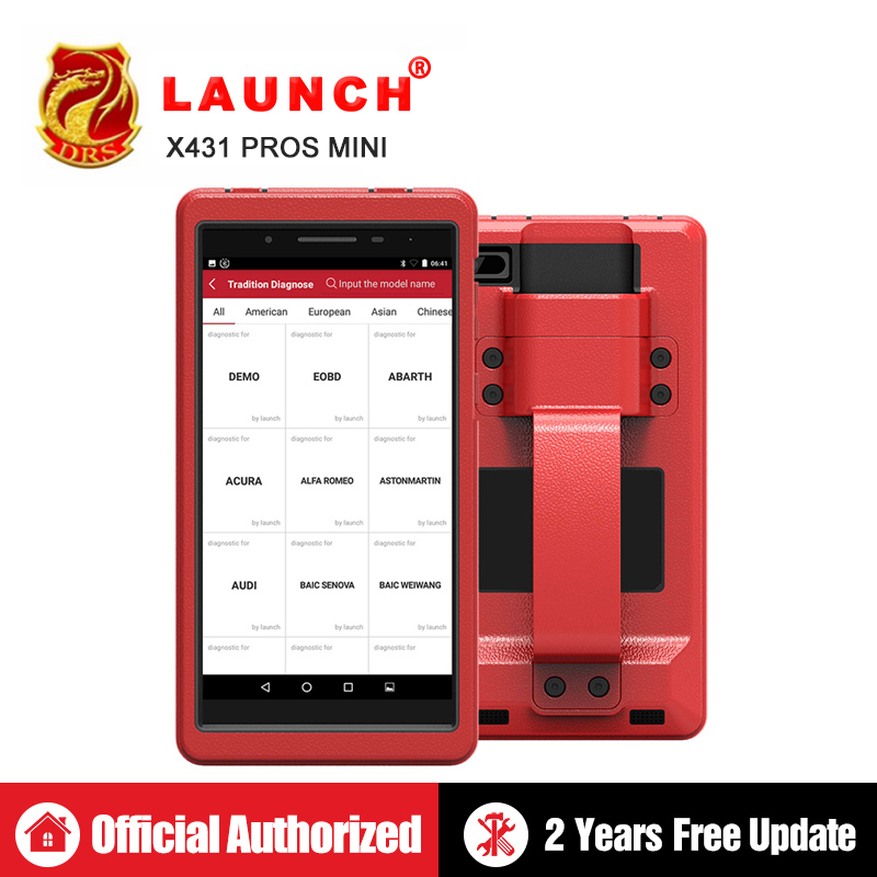 Lancement X431 Pro Pros mini OBD2 De Diagnostic WiFi Bluetooth scanner de Diagnostic obdii ECU Codage Automobile Outils comme Lancement x431 V 8
