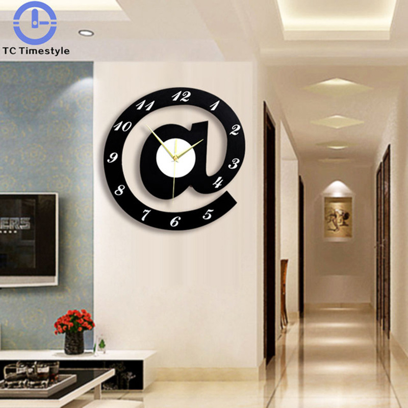 Wall Clock The Nordic A Creative Personality Symbol Mute Fashion Bedroom Living Room Home Trend Abstract Modern Design