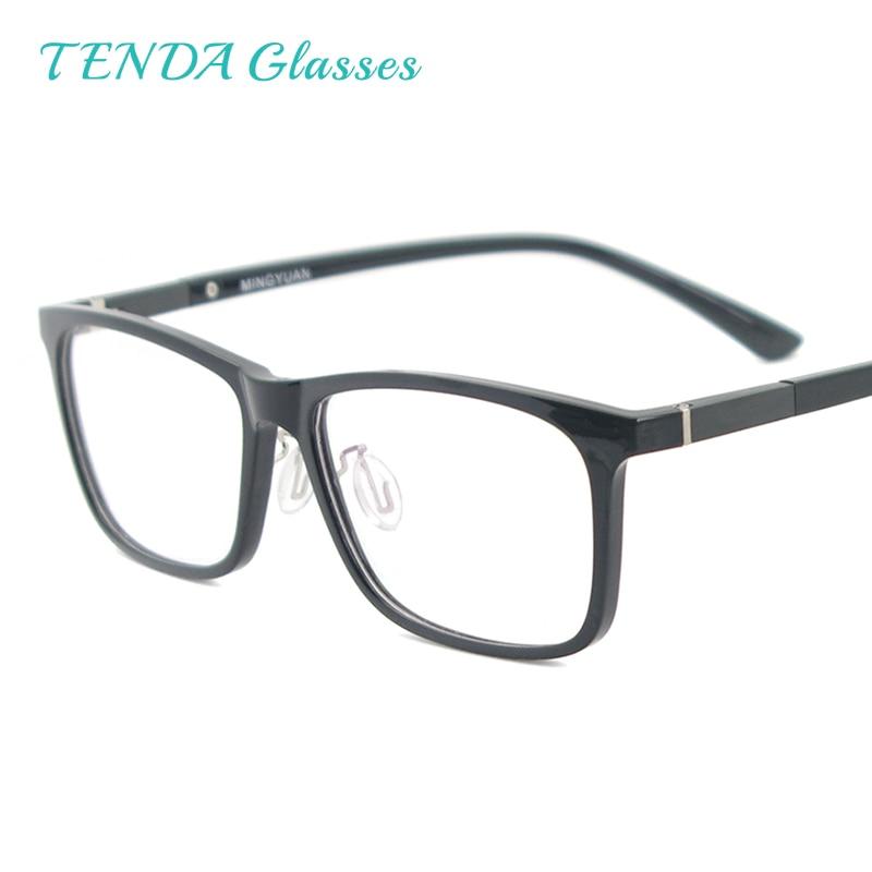 Men Rectangular Flexible Plastic Lightweight TR90 Computer Glasses Women Eyeglasses With Anti Blue Light-in Women's Blue Light Blocking Glasses from Apparel Accessories