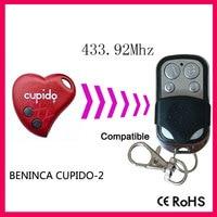 Compatible with BENINCA CUPIDO-2 rolling code remote 433.92mhz