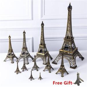 Bronze Eiffel Tower Decor zinc