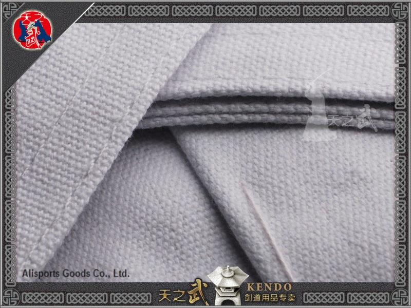 Top Qualität 10000 # 100% Baumwolle Weiß Kendo Iaido Aikido Hakama - Fitness und Bodybuilding - Foto 4