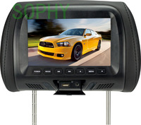 Headrest LED Color Monitor 7 Inch TFT LCD Screen Car Video Products General Car Headrest Monitor