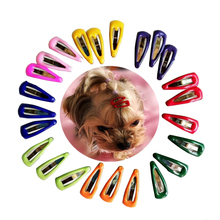 50/100pcs Dog Cat BB Hair Clips Mini Drops Teddy Yorkshire Hairpin Pet Headdress Accessories