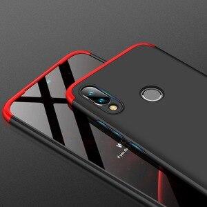 Image 5 - Voor Xiao mi rode Mi note 7 Mi Note7 case 360 Volledige Bescherming shockproof Telefoon 3in1 Cover Case