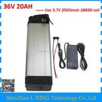 Wholesale 2pcs Lot Battery 36v 20ah 500W Silver Fish Li Ion 36 V 20ah Battery Use