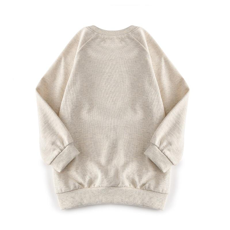 US $11 8 20% OFF|aipie Promotion Children Girls Swearshirts New Brand  Fashion Printing Cartoon Rabbit Pattern Cotton 100% Raglan sleeves Style-in