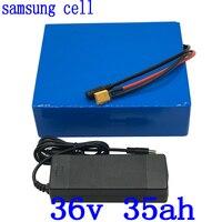 36 V elektrische roller batterie 36 V 35AH batterie 36 V ebike batterie 36 V 35AH Lithium akku verwenden samsung zelle mit 5A ladegerät-in Elektrofahrrad Akku aus Sport und Unterhaltung bei