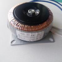 48V 0.62A Ring transformer copper 30VA 220V input custom toroidal transformer for power supply amplifier