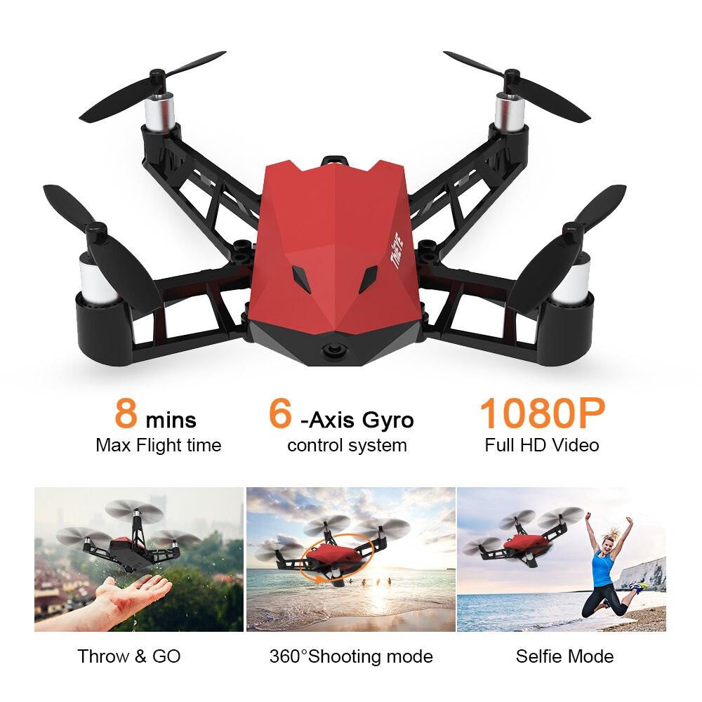 Thieye DrX Drone avec Caméra 1080 p 8MP FPV Maintien D'altitude Positionnement Du Flux Optique App Contrôle 360 Tir Selfie RC quadcopter