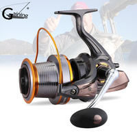 3000 9000S 12+1Ball Bearings Spinning Reel Small Big Spinning Reel with Coil No Gap Aluminum Alloy Fish Reels