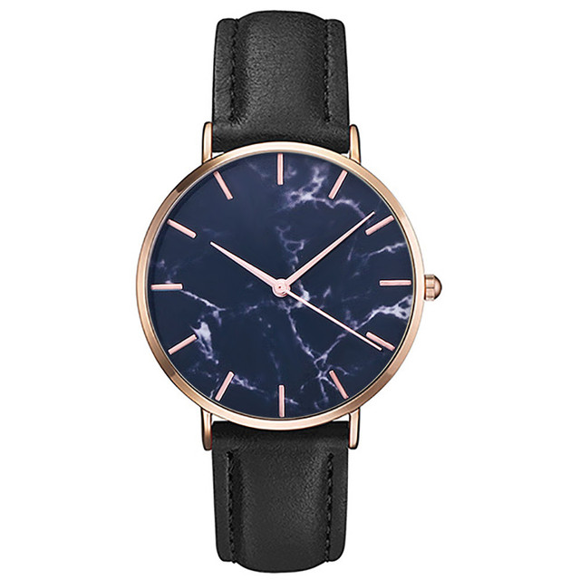 2018 Men's watches Fashion Men Women Slim Leather Analog Retro Classic Casual Gr