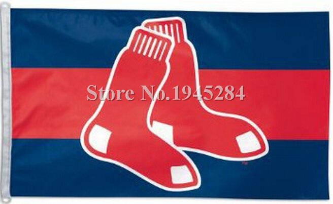 MLB Boston Red Sox Flag New 3x5ft 90x150cm Polyester Flag Banner 7023, free shipping