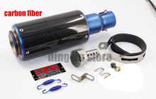 Yoshimura Titanium carbon fiber motorcycle GP-Force dirt bike exhaust pipe