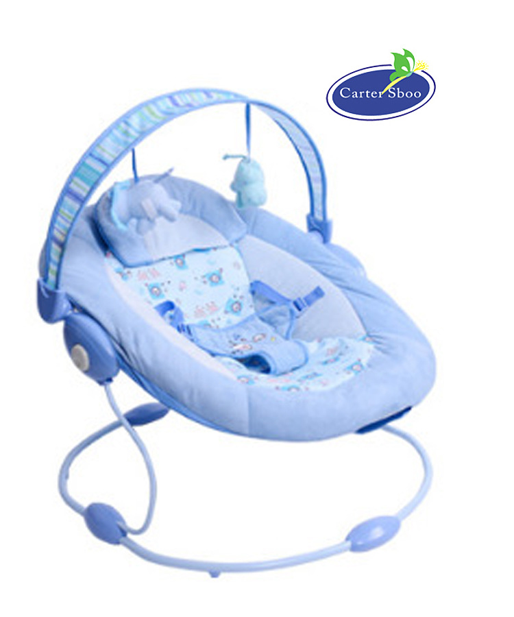Multifunctional baby baby rocking chair to appease the bouncer music vibration BB cradle bed music massage detachable folding back to multi stall adjustment rocking chair crib cradle bed