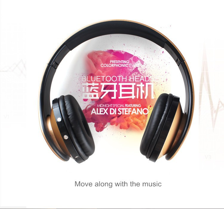 Wireless Bluetooth Headphones Portable Mp3 Player Earphone For Iphone Samsung Xiaomi Bests Studio Use Stereo Headset Support SD Card (1)