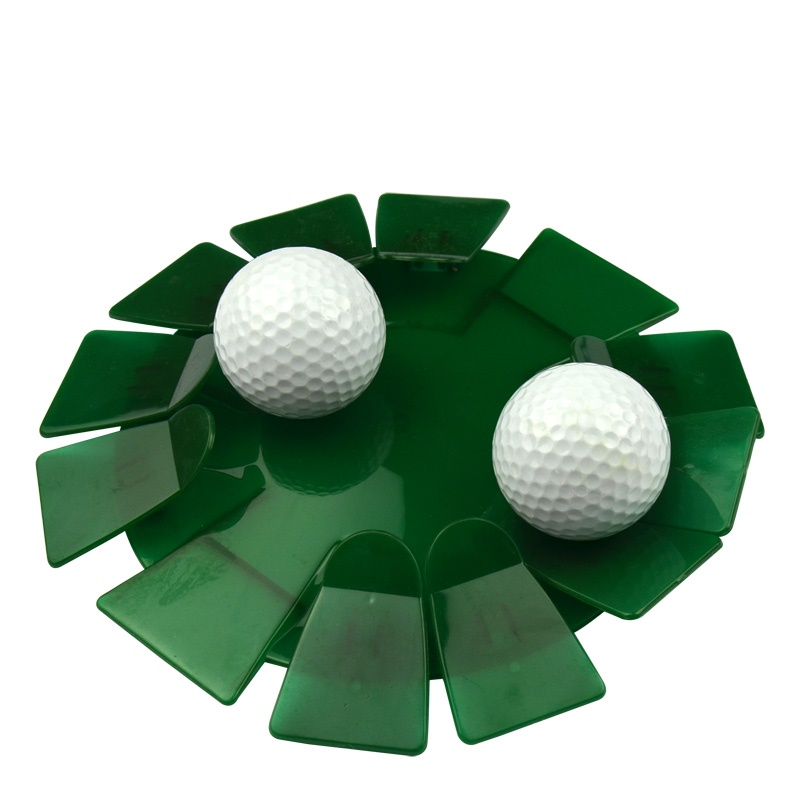 Golf Ball Tray For Golf Indoor Training Putter Practice Plate
